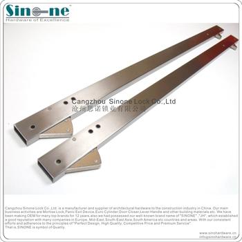 Fire-rated Stainless Steel Door Coordinator Door Selector UL qualified concealed Door Coordinator DC101 & Fire-rated Stainless Steel Door Coordinator Door Selector Ul ...
