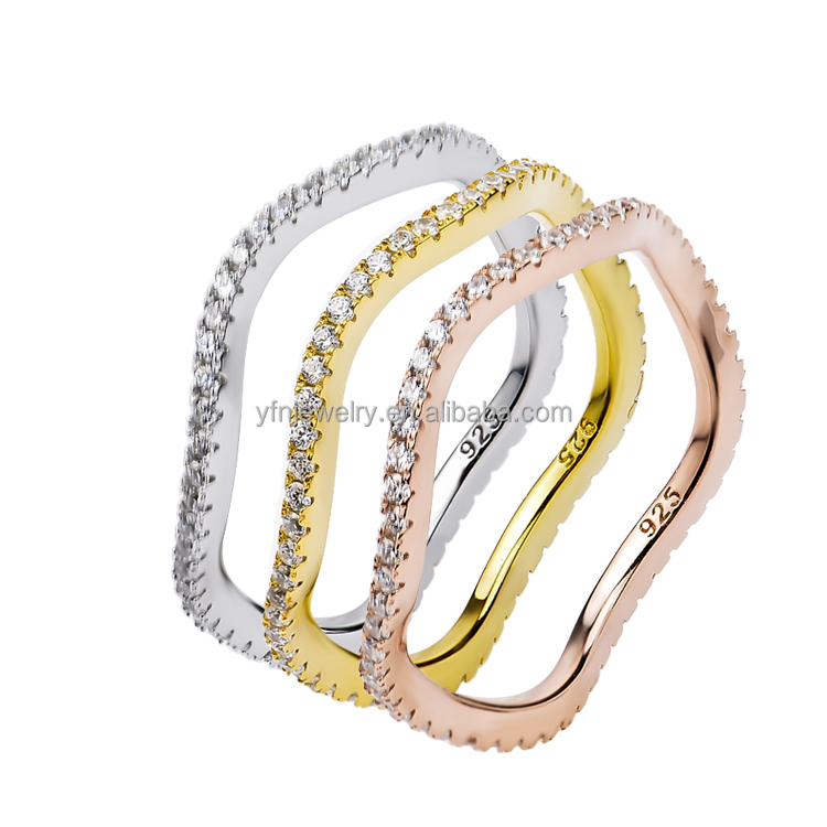 Newest Model Silver Ring Price Casual Gold Rings Hot Sale Usa