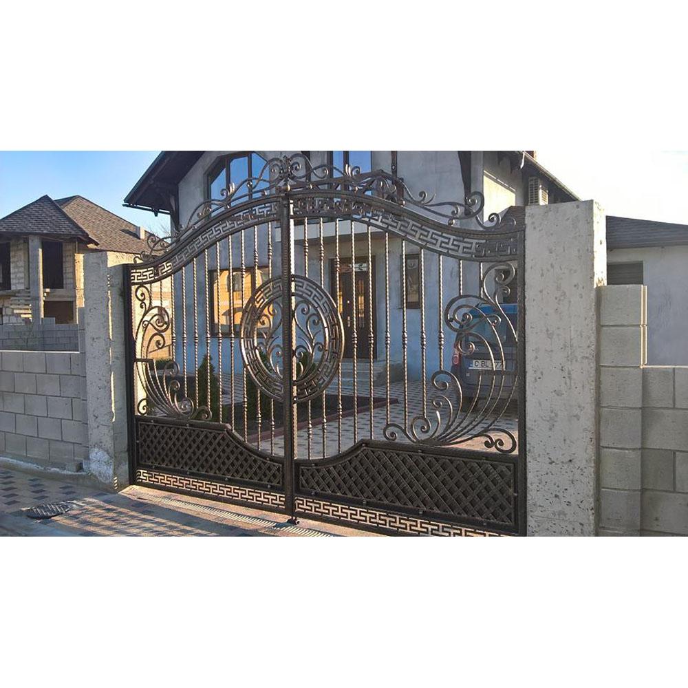 Cheap Modern House Wrought Iron Main Gates Designs Simple Gate