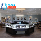 Different Jewellery Showroom Designs Shop Counter Jewelry Glass Display Showcase Jewelry Store Furniture