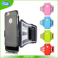 Mobile phone accessories wholesale 2 in 1 case sport running armband for iphone 6