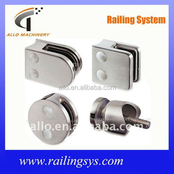 Stainless Steel Staircase Pipe Fittings Glass Connectors Clamp Type  Connector - Buy Glass Connectors Clamp,Clamp Type Connector,Stainless Steel