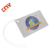 Wholesale Blank Plastic PVC Business Card Size Luggage Tag With Silicone Cord CMYK Printing