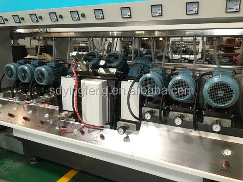 JFD-1606 100% Payment Refund Min 40x40mm Glass Double edging polishing machine with CE