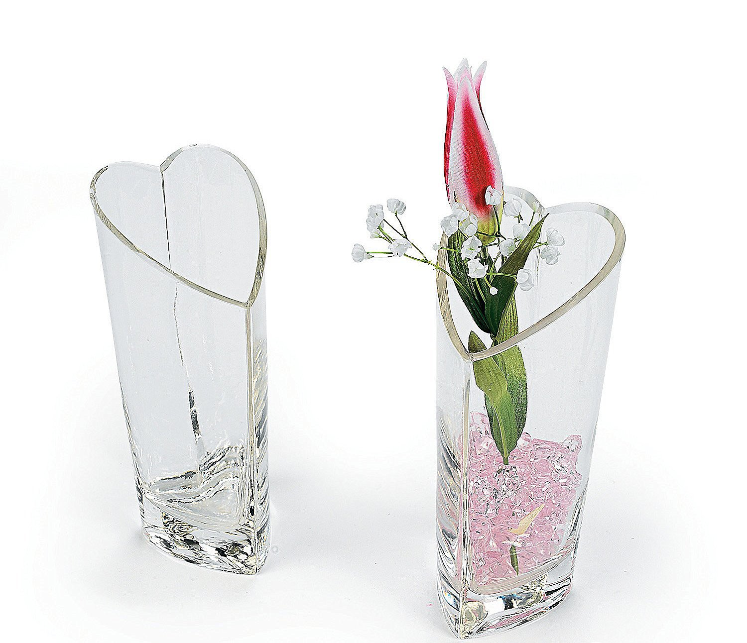 Cheap vase heart find vase heart deals on line at alibaba m heart shaped decorative glass vase reviewsmspy