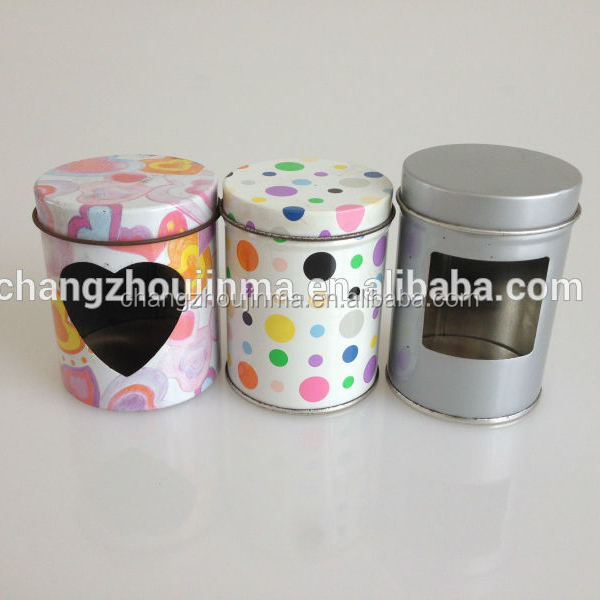 Factory direct sale mini jewelry tin box for packaging jewelry