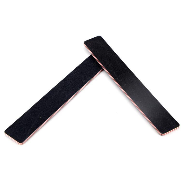 New Arrive Black Emery Board Nail File Manufacturer Custom Nail File ...