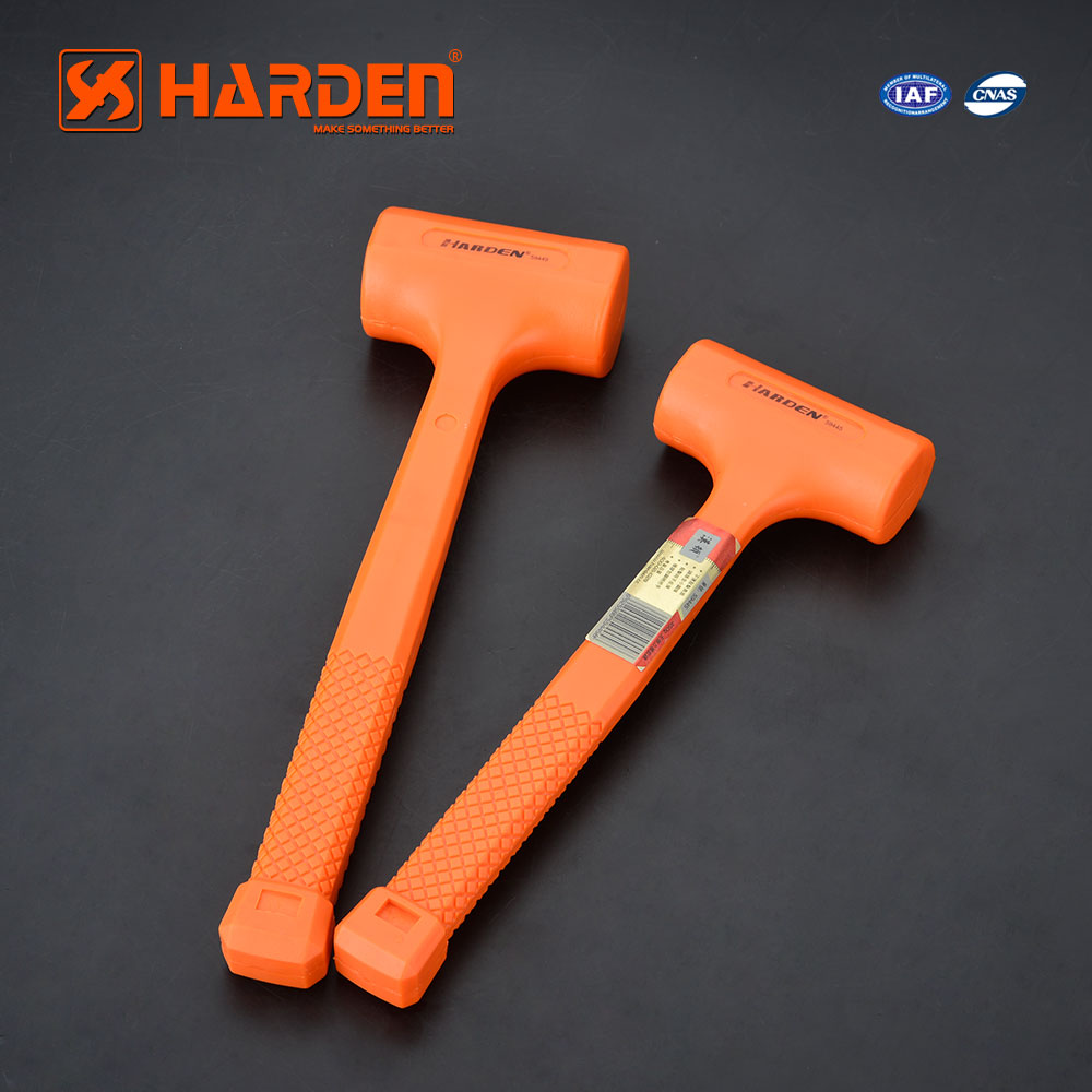 Good Quality Fiberglass Handle Plastic Hammer