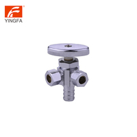 Chinese Products Wholesale dual plate check one inlet two outlet Multi Turn Supply Valve