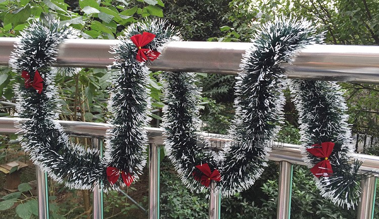Wholesale 2 Meter Length Garlands Tinsel Christmas Tinsel