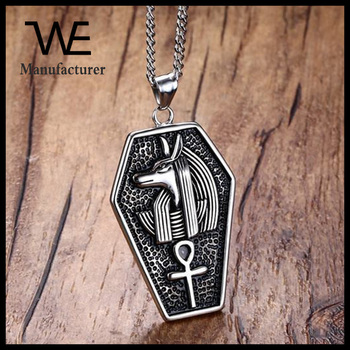 Ancient egyptian gods anubis ankh character key design of life ancient egyptian gods anubis ankh character key design of life pendant necklace aloadofball Images