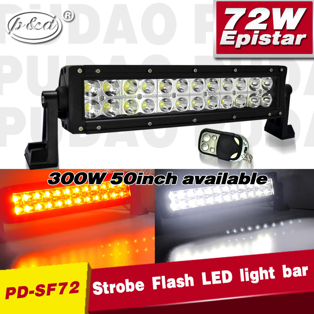 6 Lighting Effect New Amber Color Changing Led Light Bar With ...