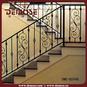 Price Of Wrought Iron Handrails Outdoor Stairs