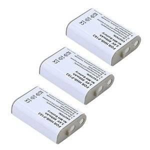 3x Pack of Panasonic KX-TD7896 Battery - Replacement Panasonic Cordless Phone Battery