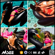 Stock Lot black used swan pedal boats for sale black inflatable swan