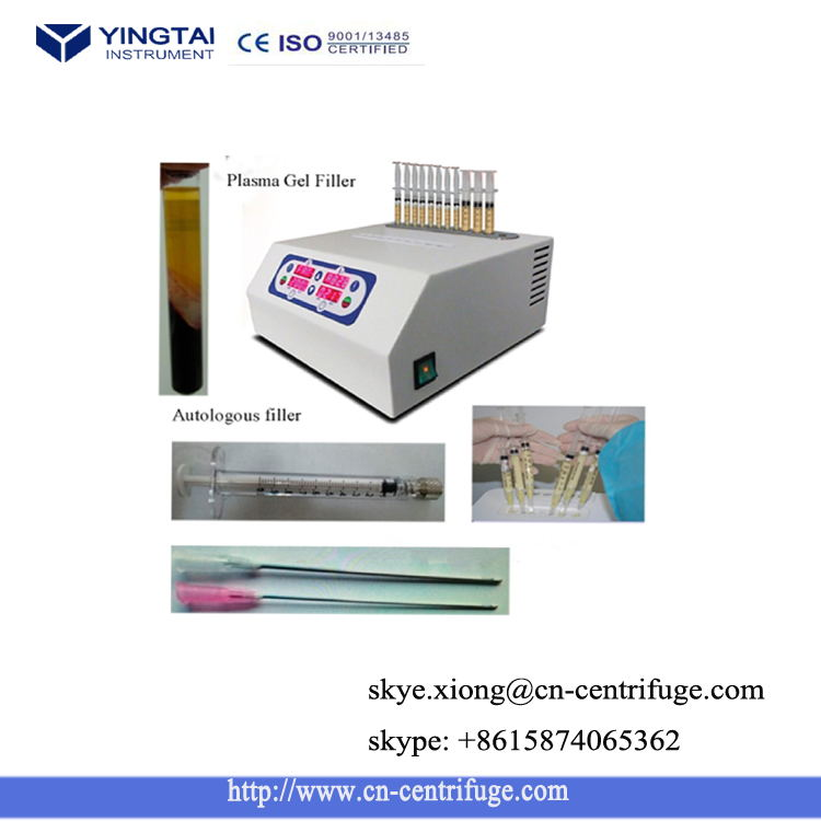 Plasma Gel Centrifuge Machine