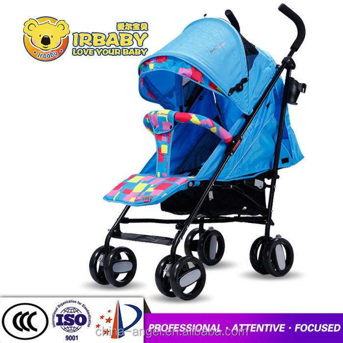 Light and comfortable baby stroller clamp umbrella full canopy baby prams with car seats