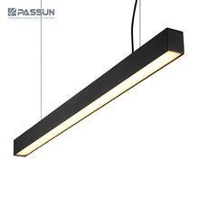 commercial led pendant modern chandelier home office hanging linear lamp led pendant lighting