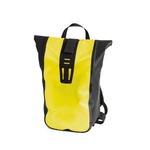yellow bicycle backpack for sports