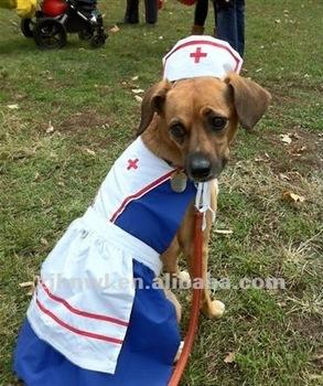nurse dog costume/cute dog costume/cute pet costume/dog apparel & Nurse Dog Costume/cute Dog Costume/cute Pet Costume/dog Apparel ...