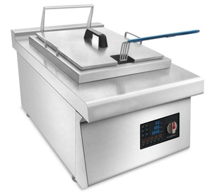 Induction Deep Turkey Fryer / Wholesale 1 container Electric Tabletop Commercial Deep Fryer