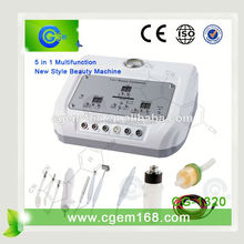 CG-1320 5 in 1 color photon ultrasonic beautiful skin instrument for salon use facial treatment