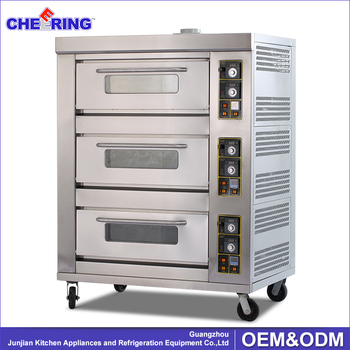 used pizza ovens for sale cheap price 3 layers gas pizza oven sale oem