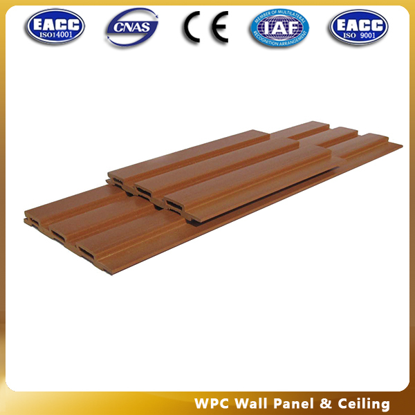 CE/ISO/SGS/TUV Waterproof wpc indoor fire resistant decorative wall panel