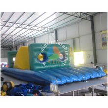 Double rush obstacle course,inflatable obstacle course 2016