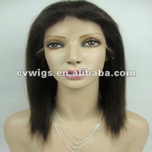 New arrival factory price human hair wigs white women
