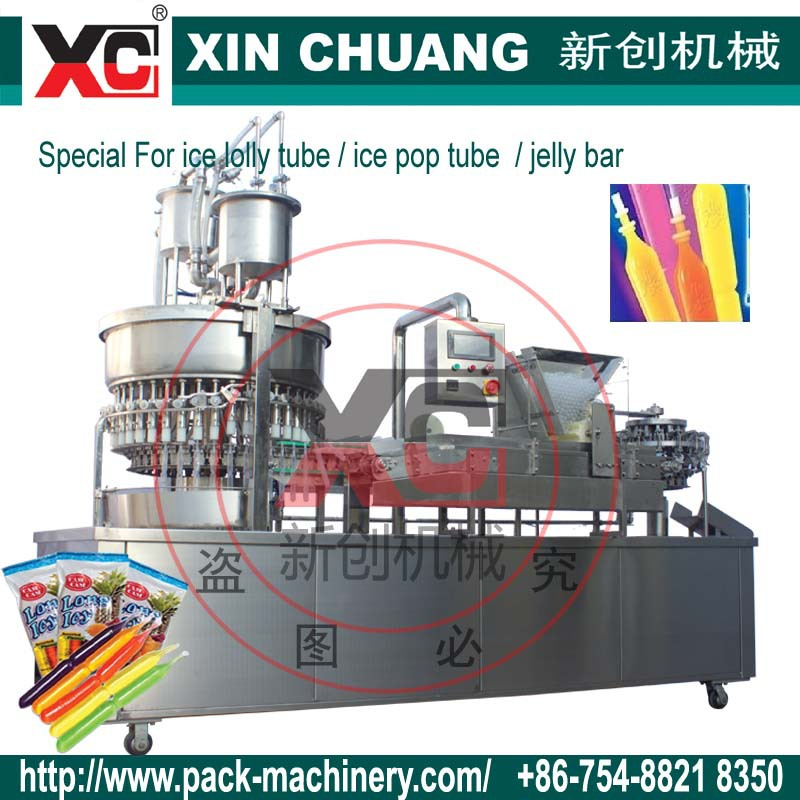 CFRA ICE LOLLY/ ice pop tube Automatic filling sealing machine