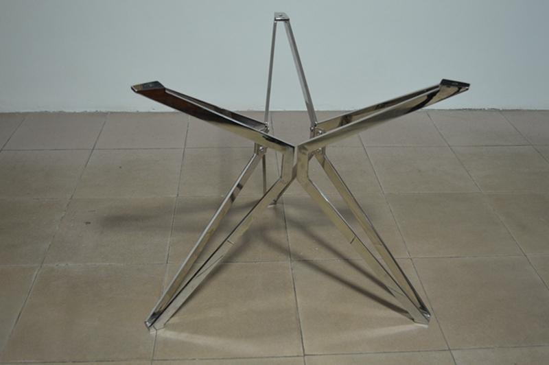 Chrome Metal Dining Table BaseTable Frame Buy Dining Table Base