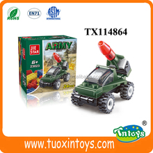 24pcs small DIY tank building blocks toys new intelligent toys for kids