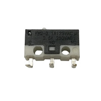 Right angle subminature d2f mouse micro switch