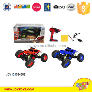 RC car 4 channel metal remote car toy