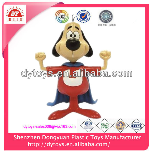 Customized 3D plastic dog wire figure