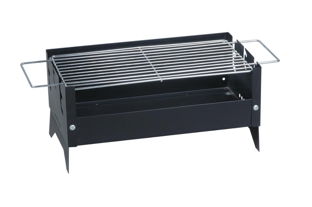 Awesome Balcony Portable Tabletop Hibachi Rectangle Barbecue BBQ Grill