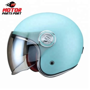 Wholesale custom blue mini motorcycle helmet