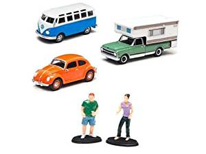 Campsite Cruizers, 3 Cars, Set 1/64 by Greenlight 50966