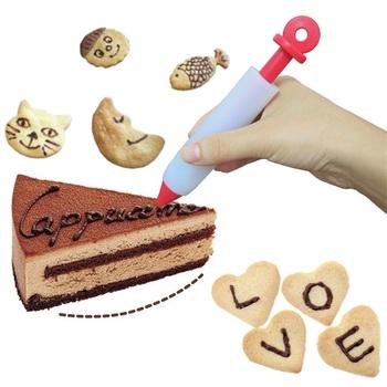 Bunte Rutschfeste Abnehmbare Kekse Schreiben Creme Farbe Kuchen
