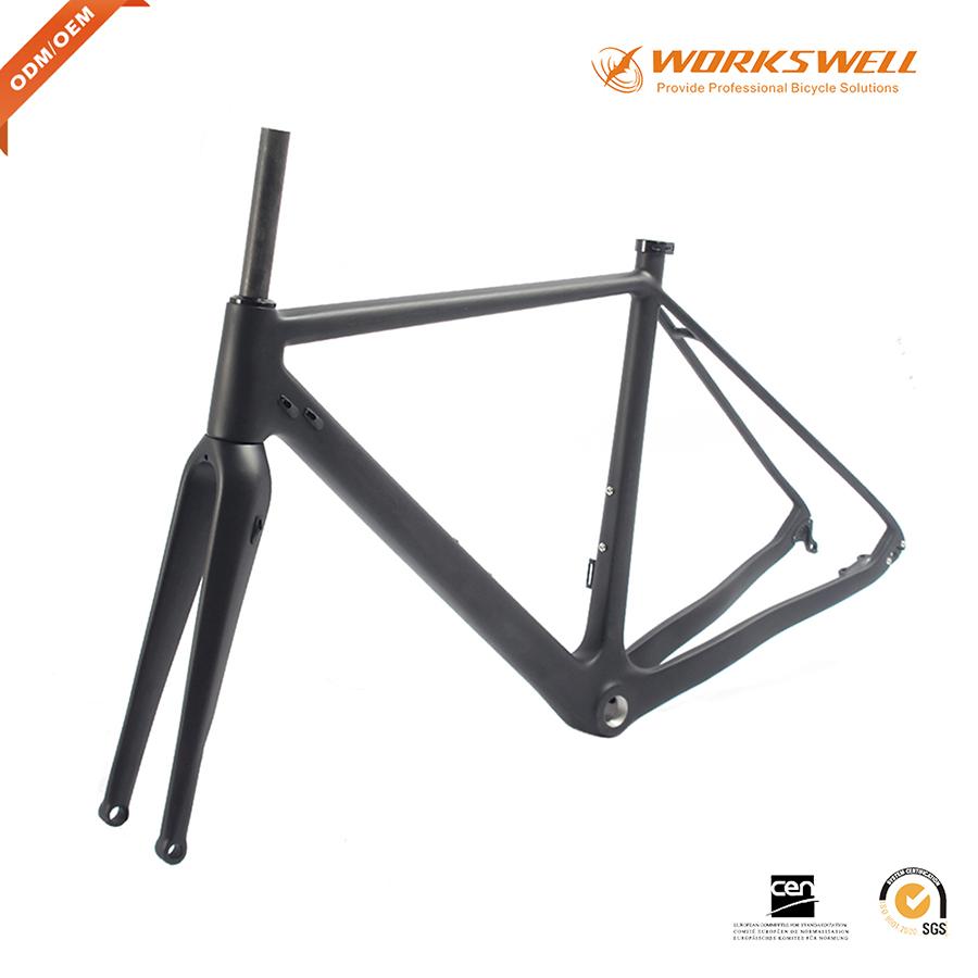Carbon Gravel Bike Frame Thru Axle, Carbon Gravel Bike Frame Thru ...