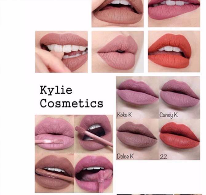 Très Nouvelle Marque 8 Couleurs Boîte Kylie Jenner K Kit Pour Les  LM94