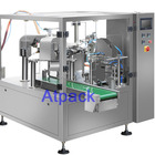 Atpack high-accuracy automatic Disposable hotel wen shampoo filling and sealing machine with CE GMP