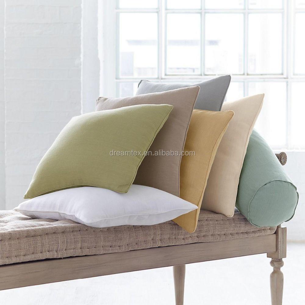 Custom Logo 100 Cotton Blank Custom Pillow Cushion Cover