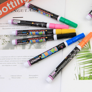 Black Washable Pen Material To Make Photo Albums Plumones Para Body Paint