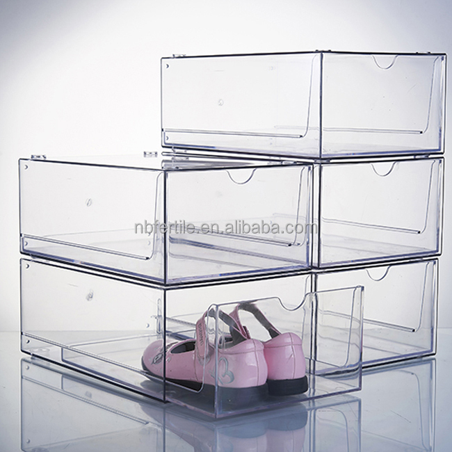 Single Shoe Display Case Clear Acrylic Shoe Box Buy