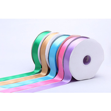 Wholesale 1 Inch Double Faced Polyester Satin Ribbon