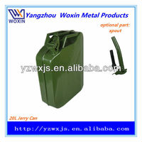 Water-resistant Metal diesel fuel can Military-style 20Litre