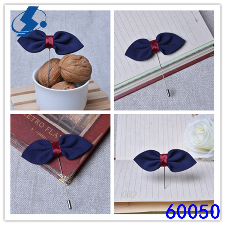 Fashion Style Bow Pin Mens Lapel Pins /Tie Brooch