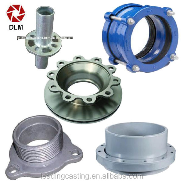 Customized Investment Casting Parts with Ducticle Iron Casting